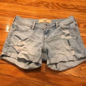 Hollister Midi shorts, low rise